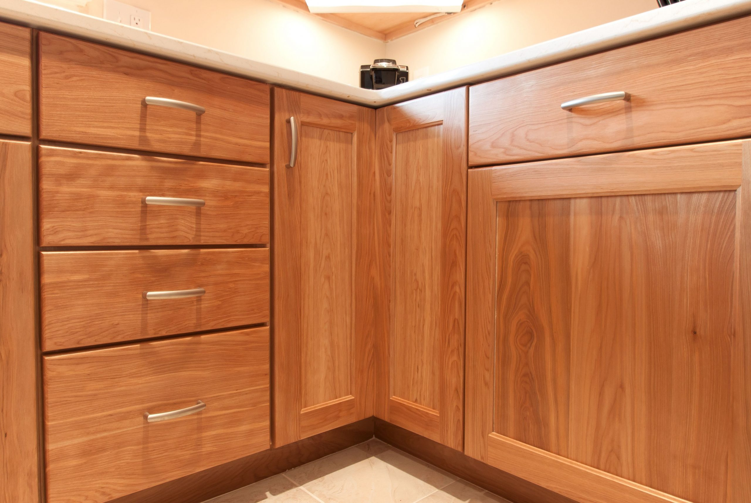 Custom Kitchen with Natural Red Birch Cabinets  Birch kitchen  - Birch Kitchen Cabinet Doors