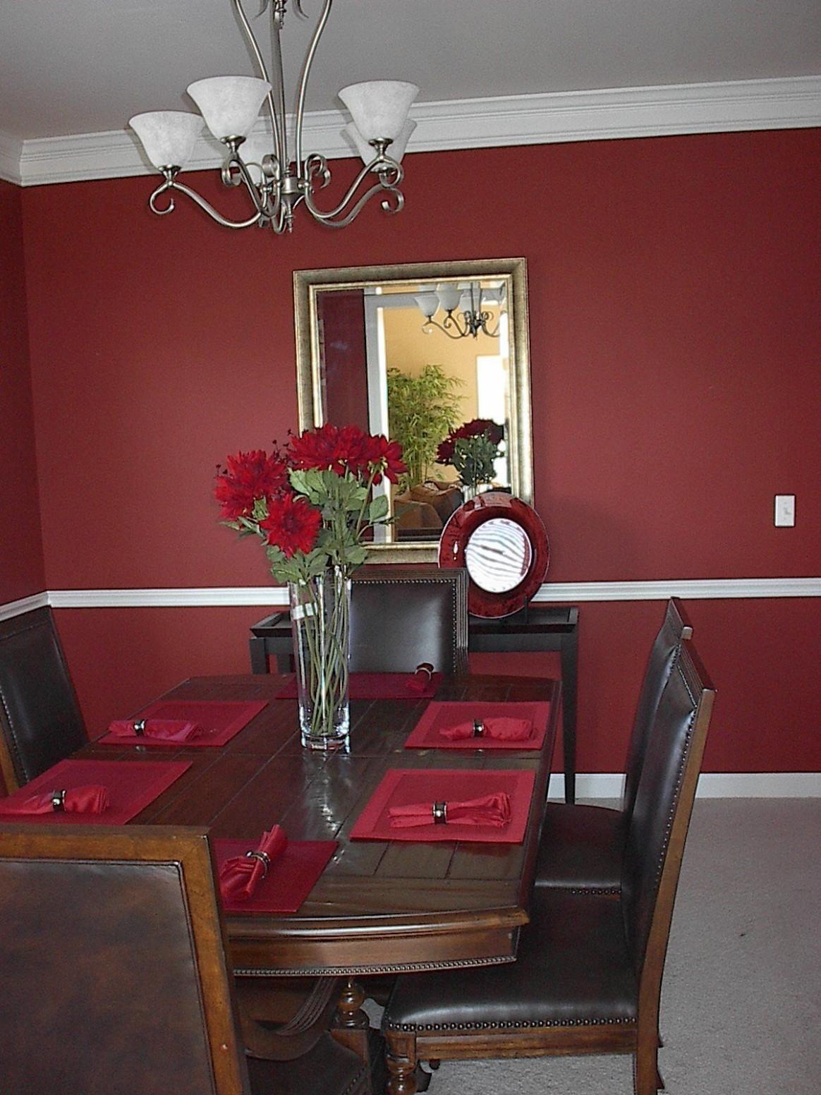 dining room decorating ideas  Dining room colors, Dining room  - Dining Room Ideas Red