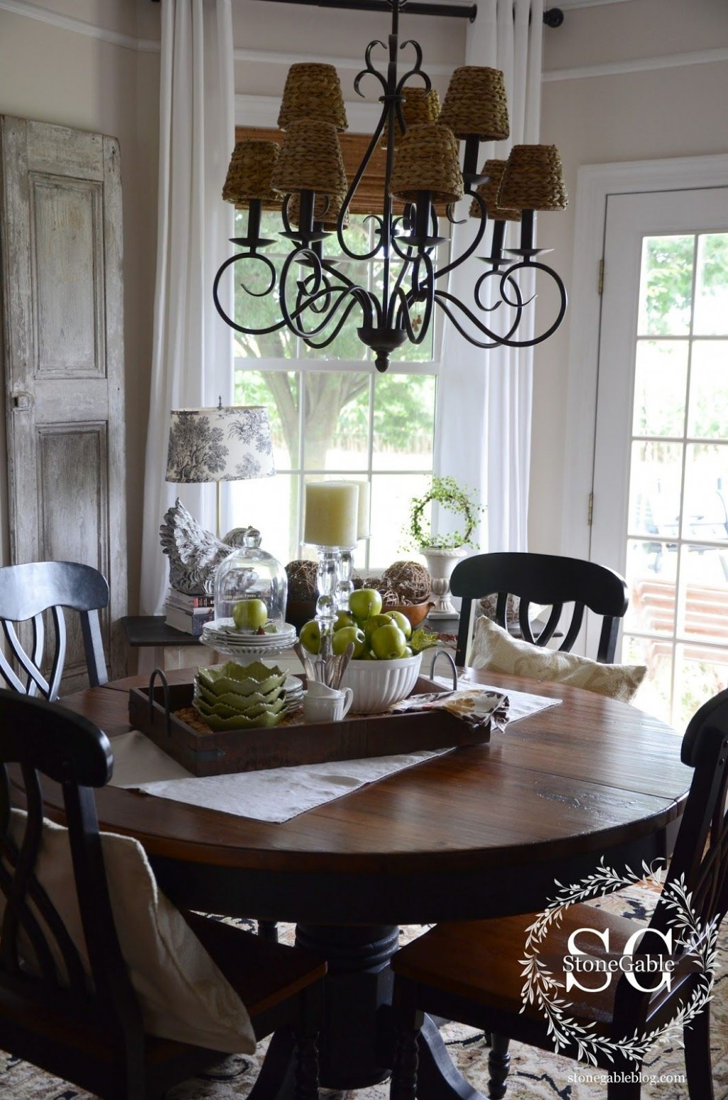 Dining Table Decor for an Everyday Look - TIDBITS&TWINE  Dining  - Dining Room Ideas Round Table