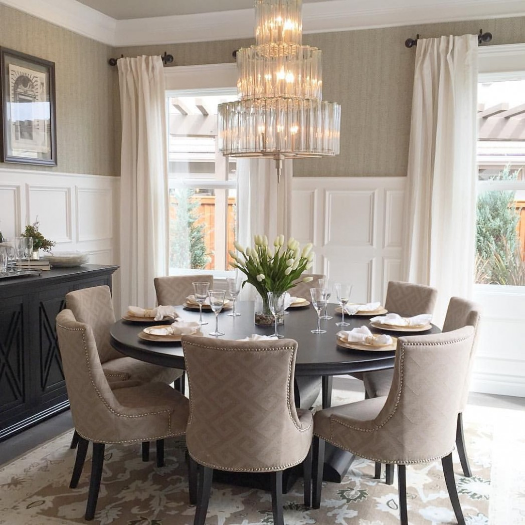 Discover the best selection of dining room lighting inspiration  - Dining Room Ideas Round Table