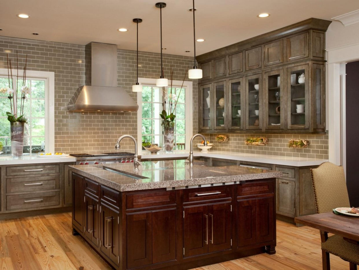 Distressed Kitchen Cabinets: Pictures, Options, Tips & Ideas  HGTV - Distressed Kitchen Cabinets Pictures