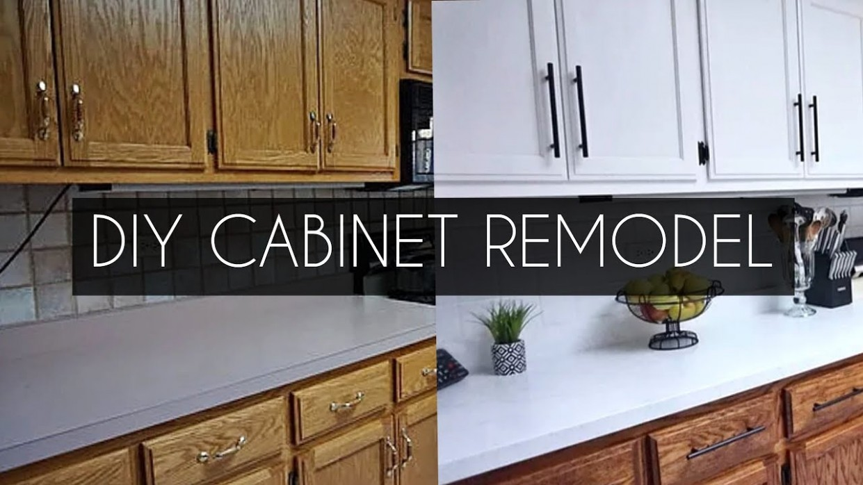 DIY: How to Paint Cabinets WITHOUT Sanding - Youtube Painted Kitchen Cabinets