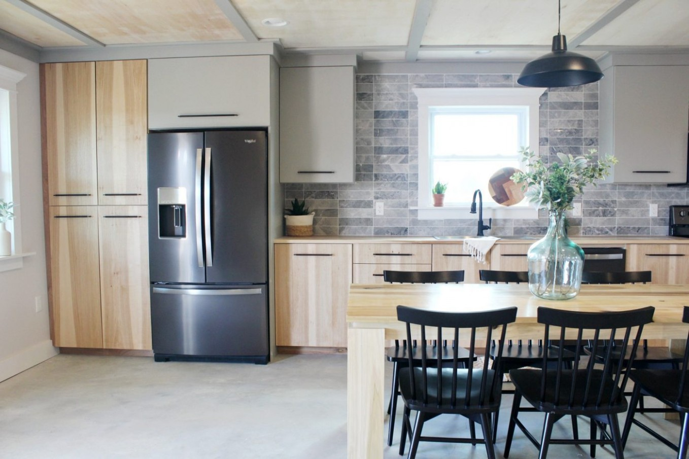 DIY Kitchen Cabinets--Made From Only Plywood! - 24 Kitchen Cabinet Base Box Only Natural Wood