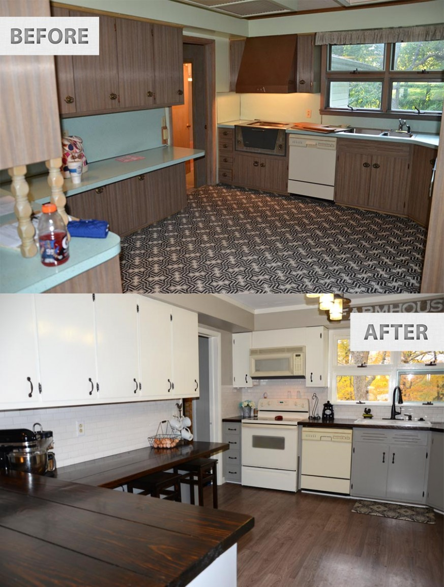 Diy Kitchen Remodel You Can Look Best Designs Before And After On  - Diy Galley Kitchen Cabinet Ideas