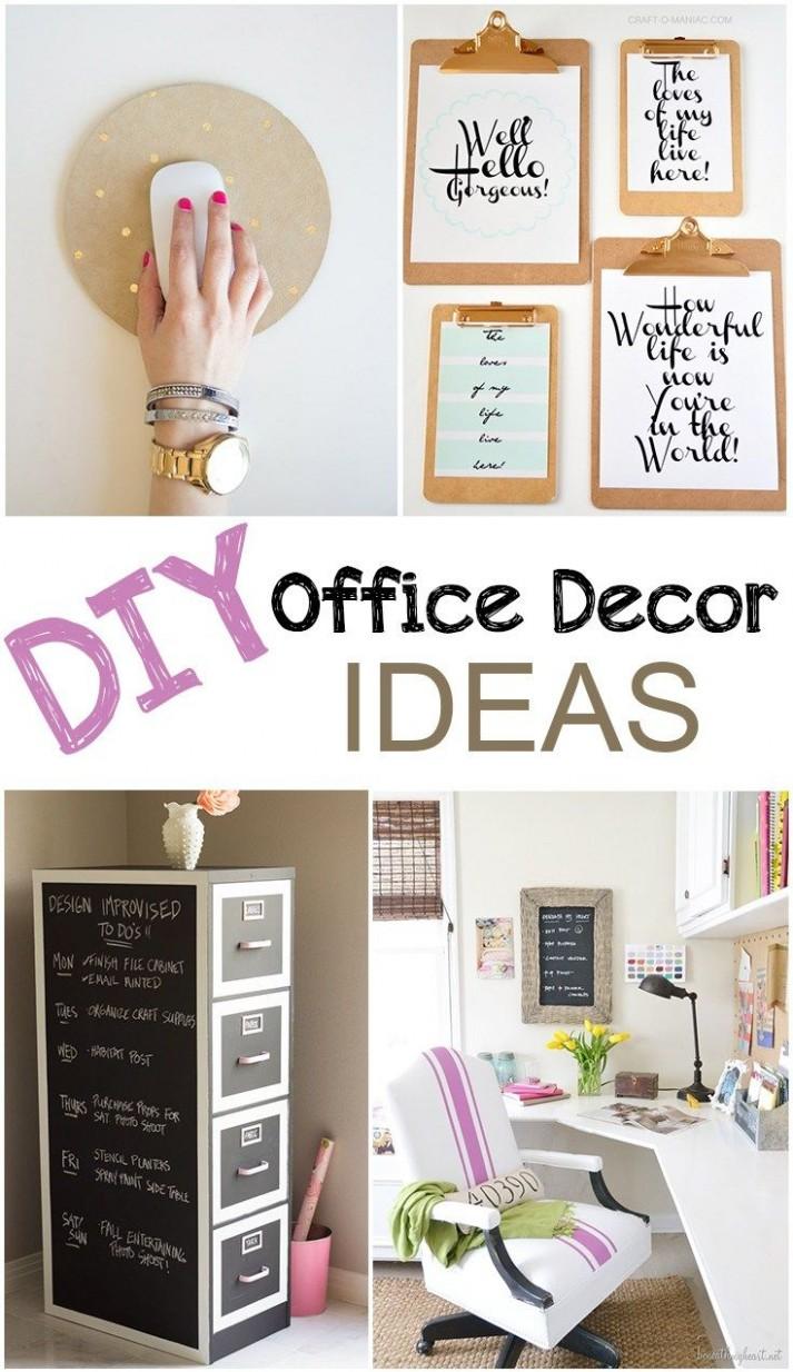 DIY Office Decor • Picky Stitch  Diy office decor, Diy office  - Home Office Ideas Diy