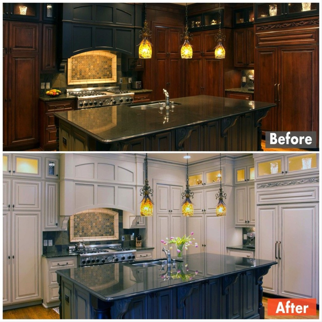 Does your kitchen need a new look? Is the hassle, mess, and  - Refacing Kitchen Cabinets New Jersey