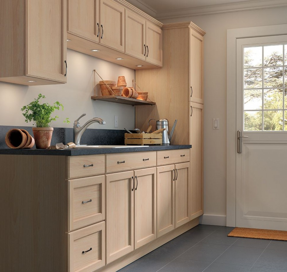 Easthaven Unfinished Base Cabinets – Kitchen – The Home Depot - Long Base Kitchen Cabinets