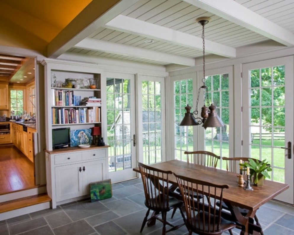 Elegant Sunroom Dining Room Ideas 8 For Your home improvement  - Sunroom Dining Room Ideas
