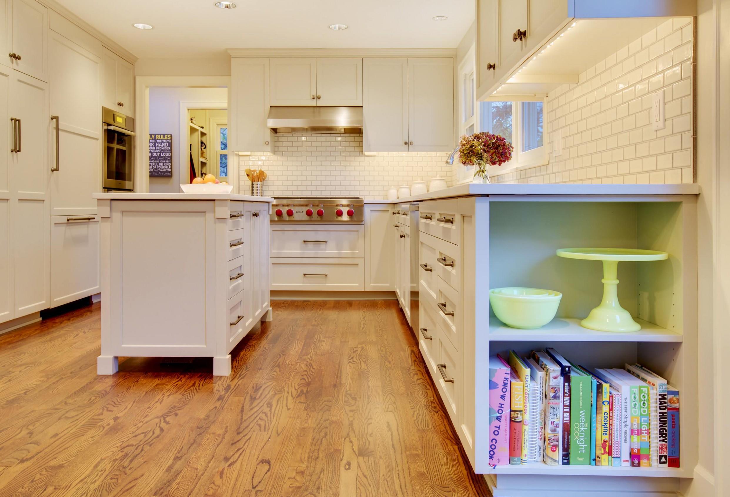 End Cabinet  Houzz - Whitehall Kitchen Cabinets