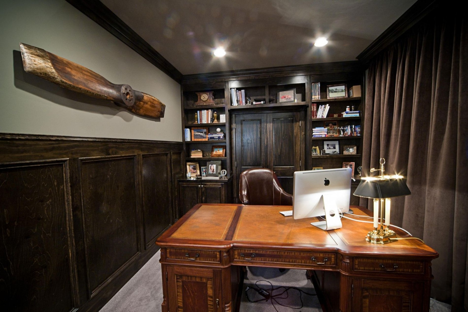 Excellent Photo of Home Office Design Ideas For Men - Interior  - Home Office Ideas Male