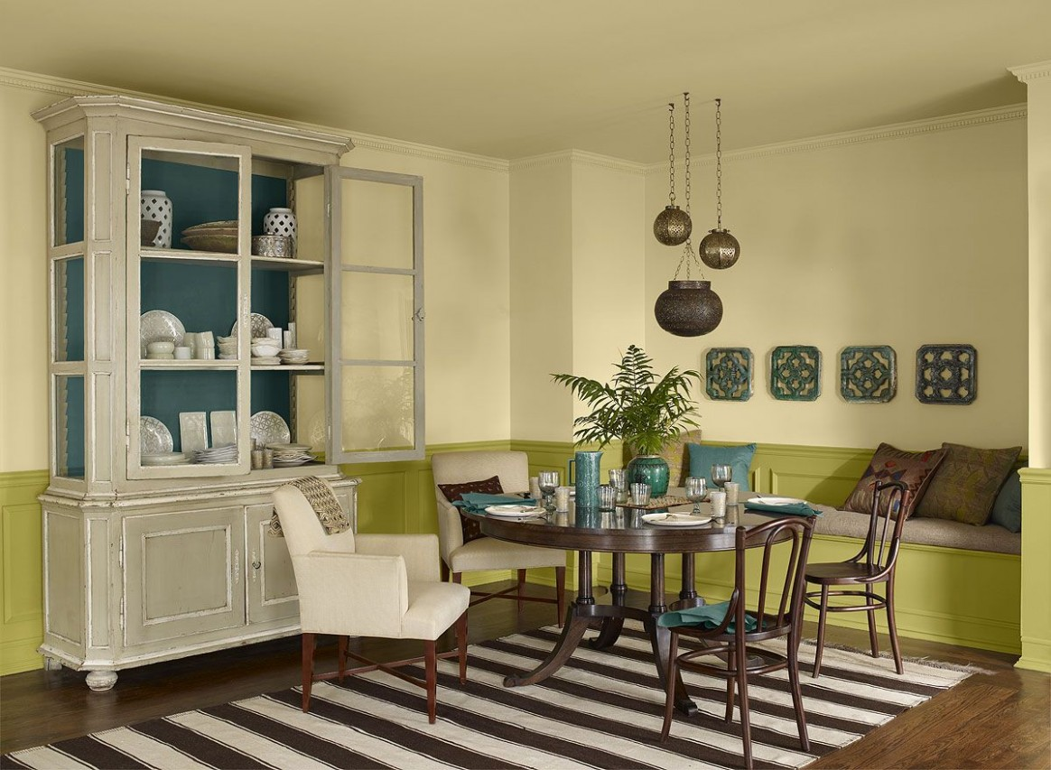 Exciting Yellow Dining Room  Dining room colour schemes, Yellow  - Dining Room Ideas Colour Schemes