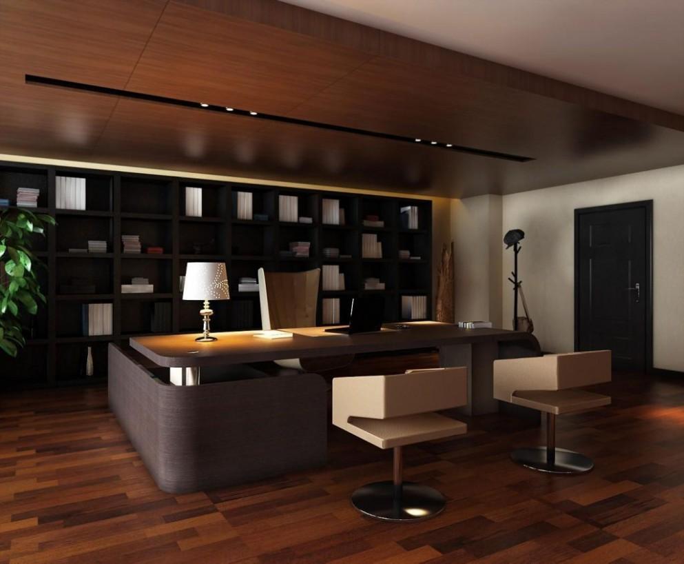 Executive Home Office Ideas Interior Design - Executive Home Office Ideas