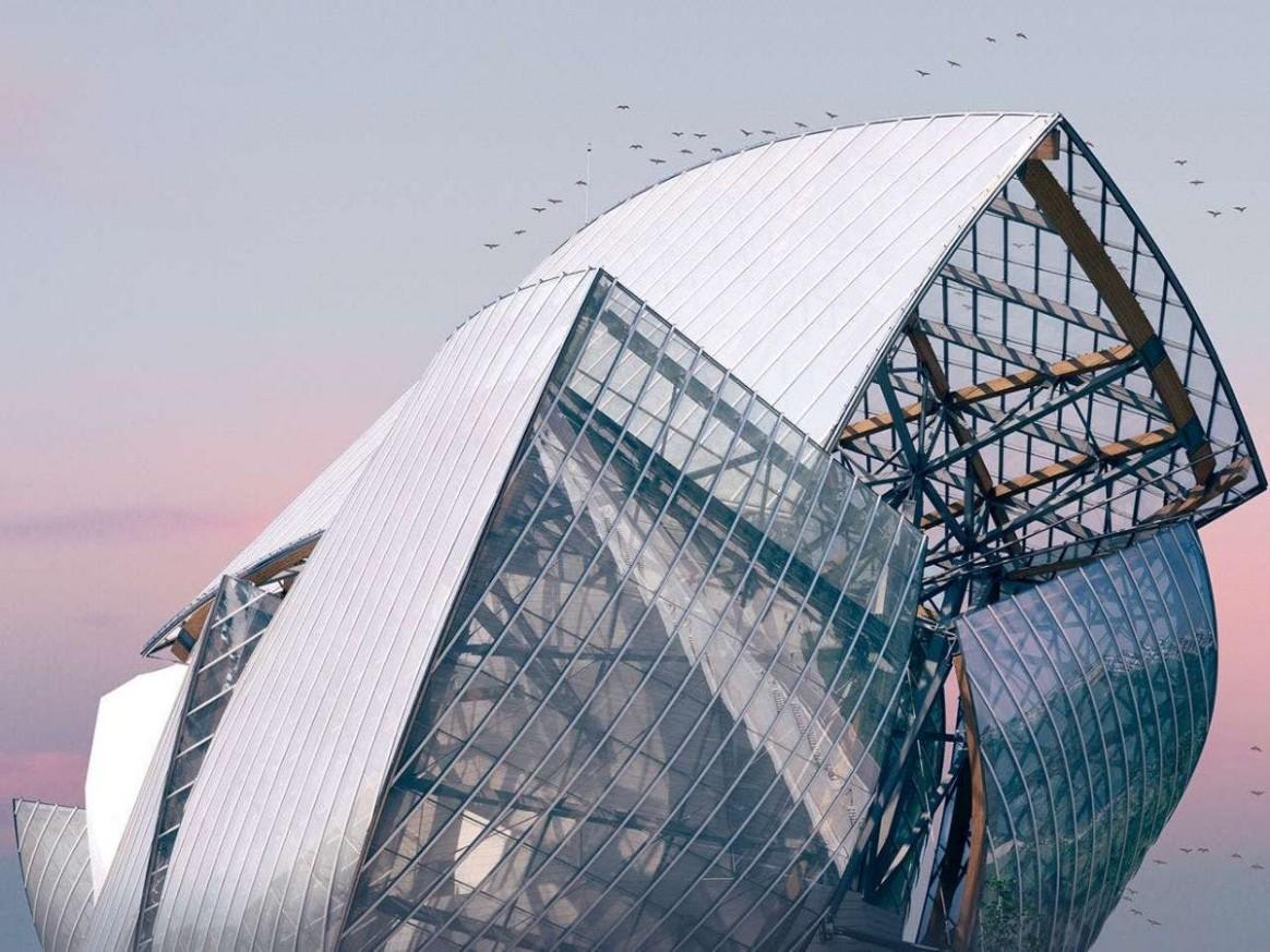 Fondation Louis Vuitton releases 12 Best Photos of Frank Gehry  - Design Apartment Next To Louis Vuitton Building