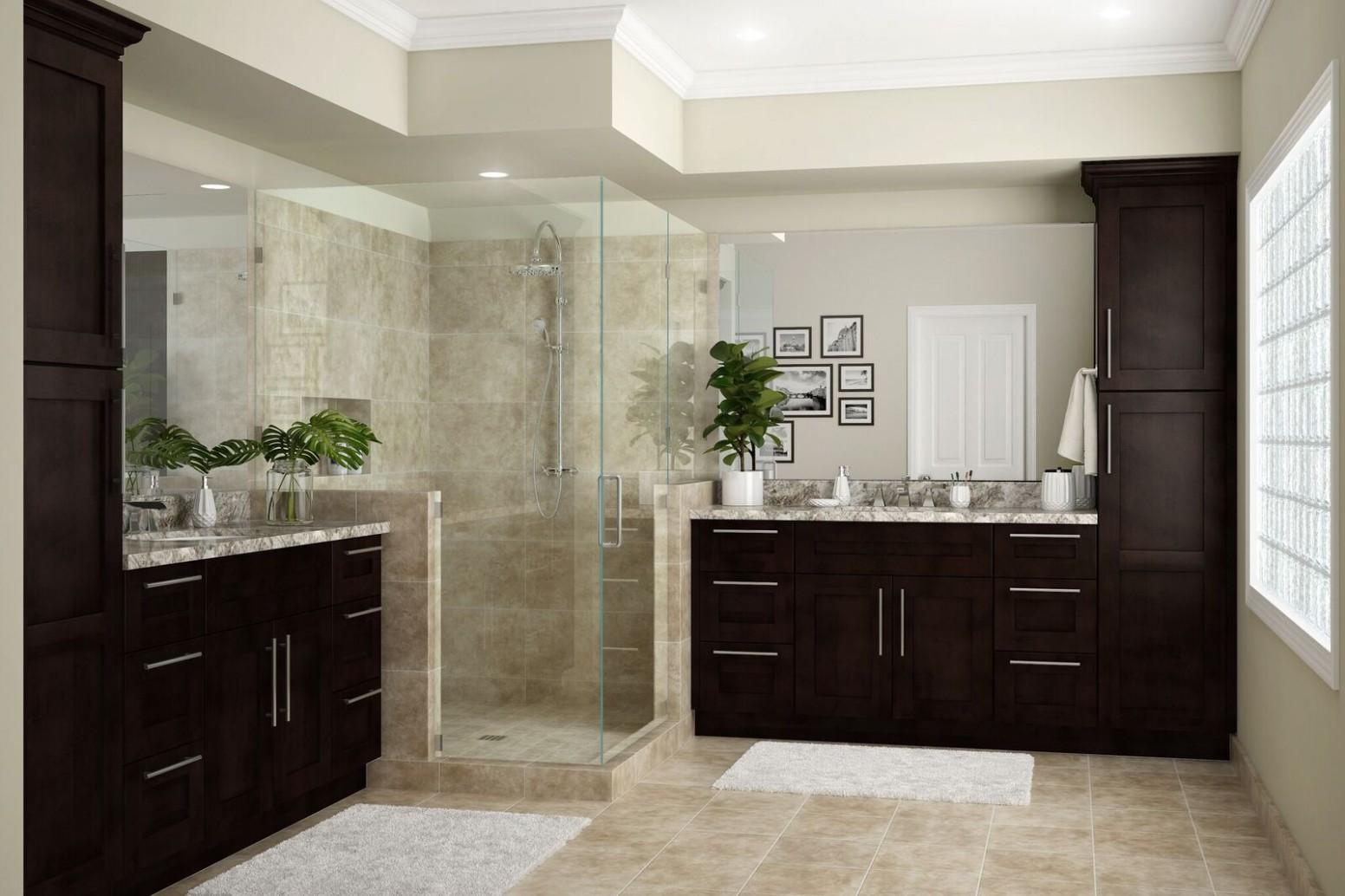 Franklin Bath Cabinets in Manganite – Kitchen – The Home Depot - Franklin Kitchen Cabinets