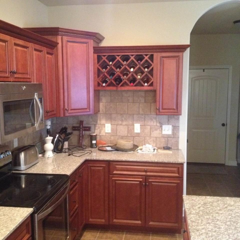 Franklin Nutmeg Kitchen Cabinets - Contemporary - Kitchen - Other  - Franklin Kitchen Cabinets