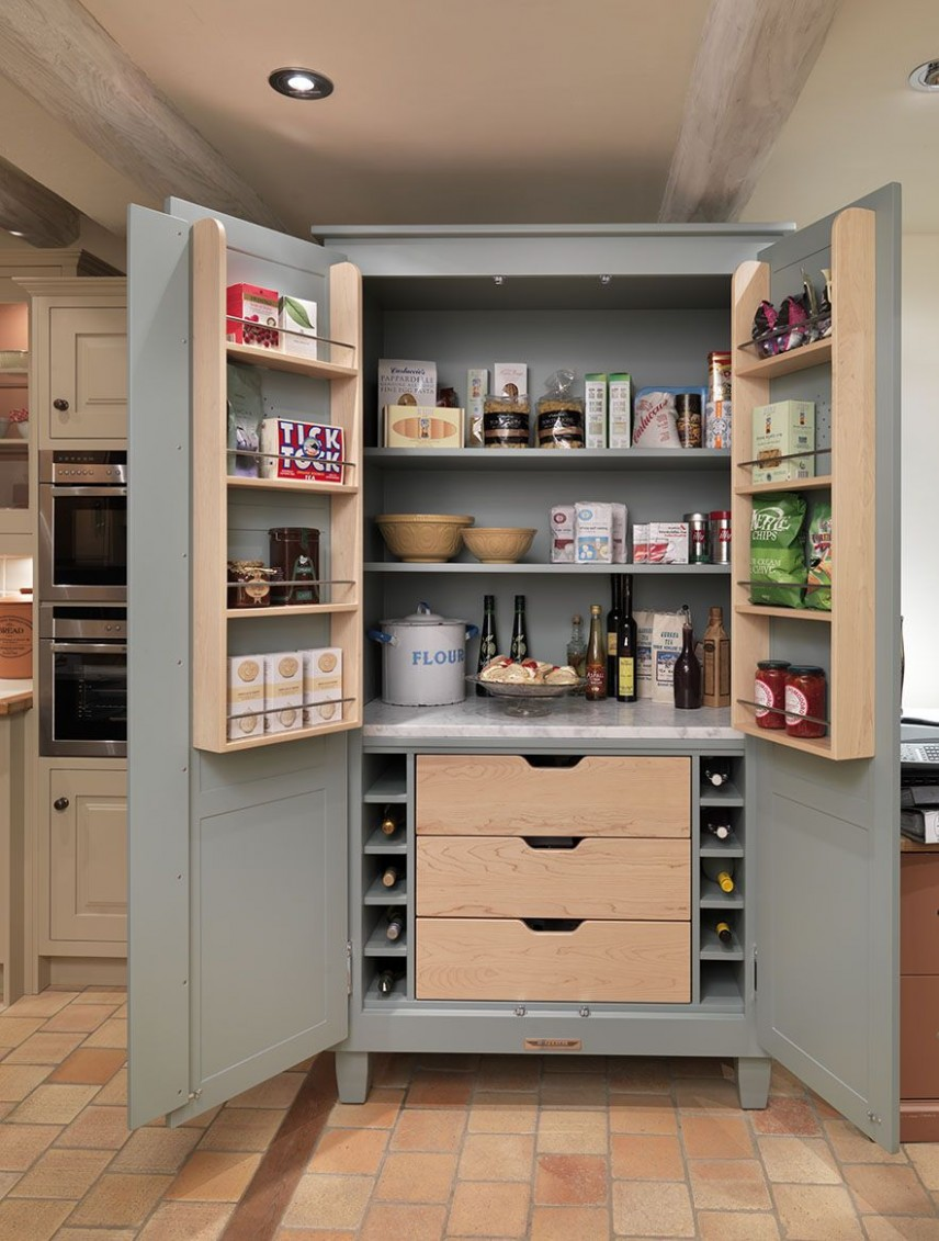 Freestanding Shaker Pantry from John Lewis of Hungerford