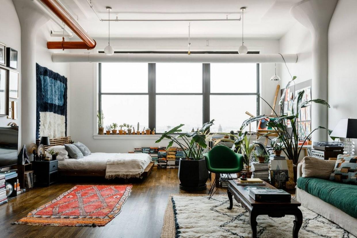 Functional Loft Space Ideas  Lilla Rugs  Persian Rugs London - Apartment Design Guide Uk