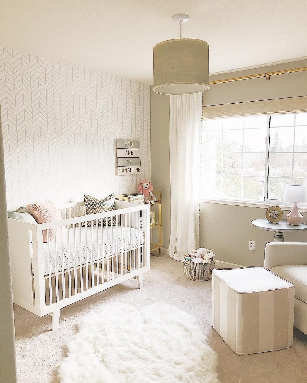 gender neutral nursery design :: beige nursery :: greige nursery  - Baby Room Neutral