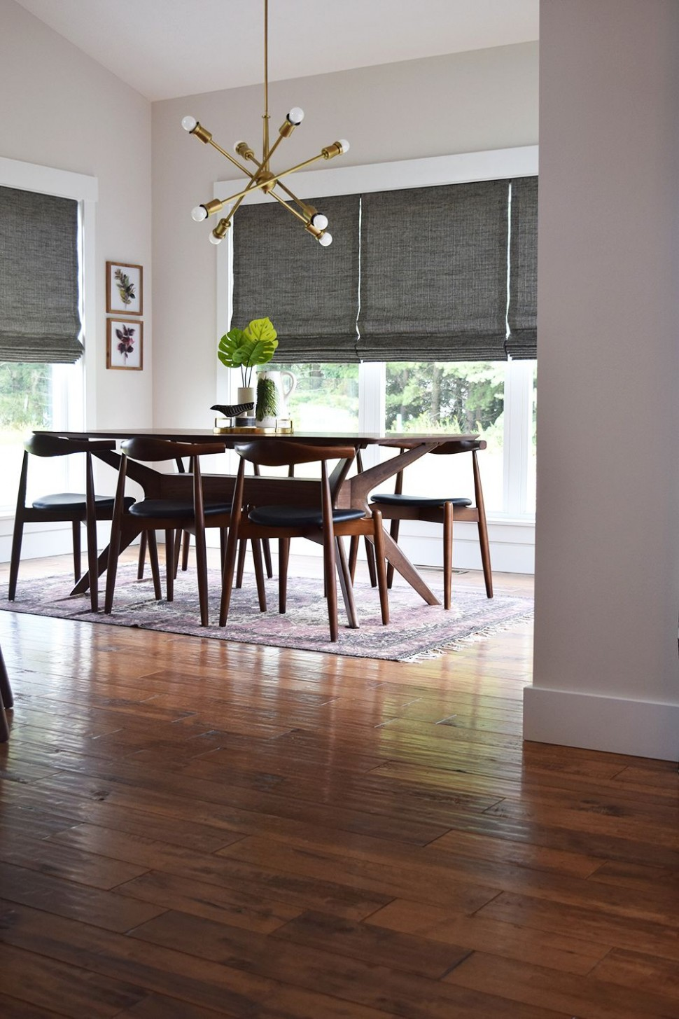 Get this breathtaking hardwood for your home!  RiteRug Flooring  - Dining Room Ideas With Hardwood Floors