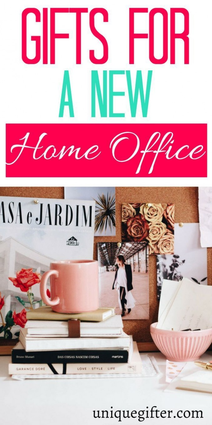 Gifts for a New Home Office - Unique Gifter  Gifts for office  - Home Office Gift Ideas