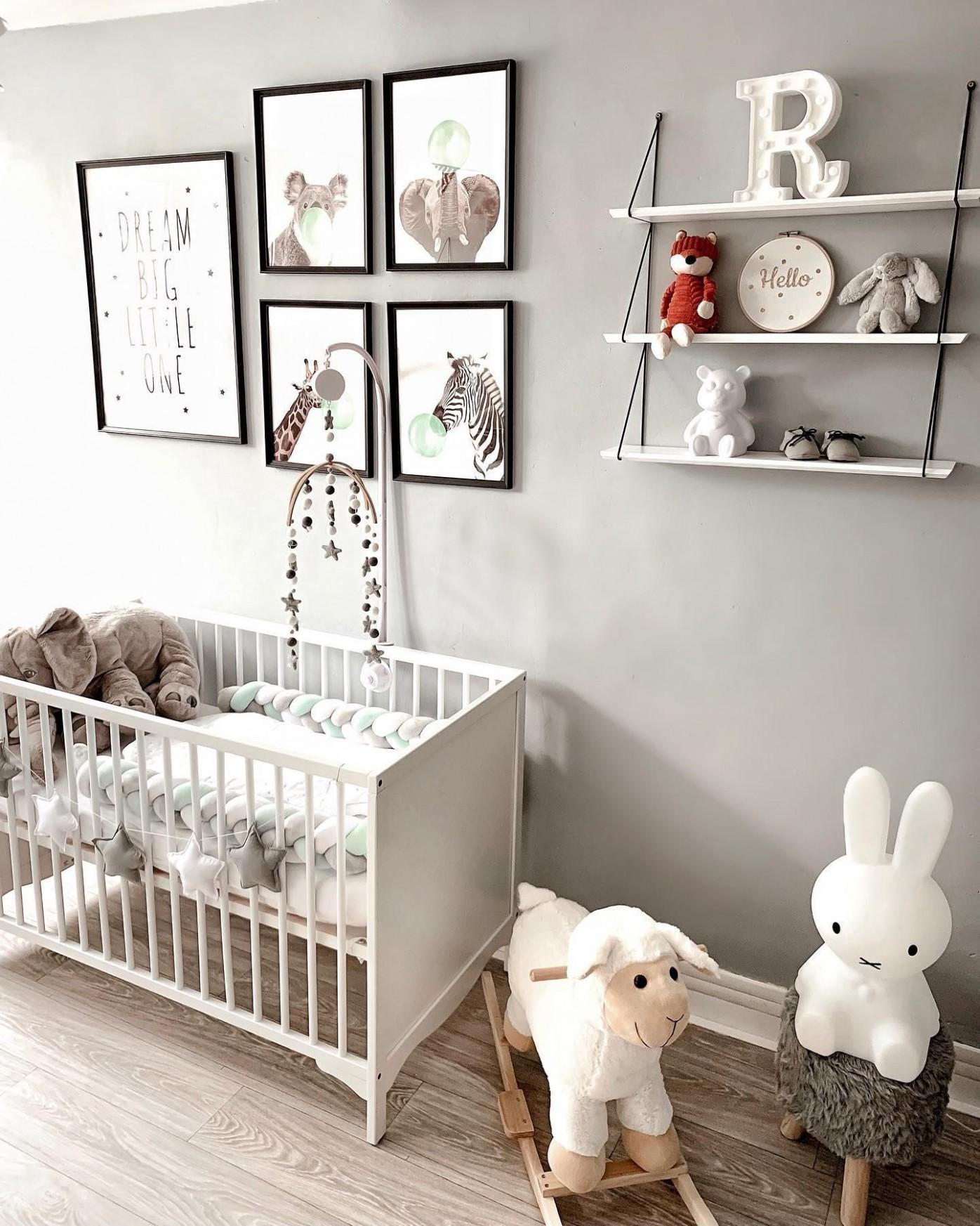 Gray gender neutral nursery  Baby room neutral, Gender neutral  - Baby Room Neutral