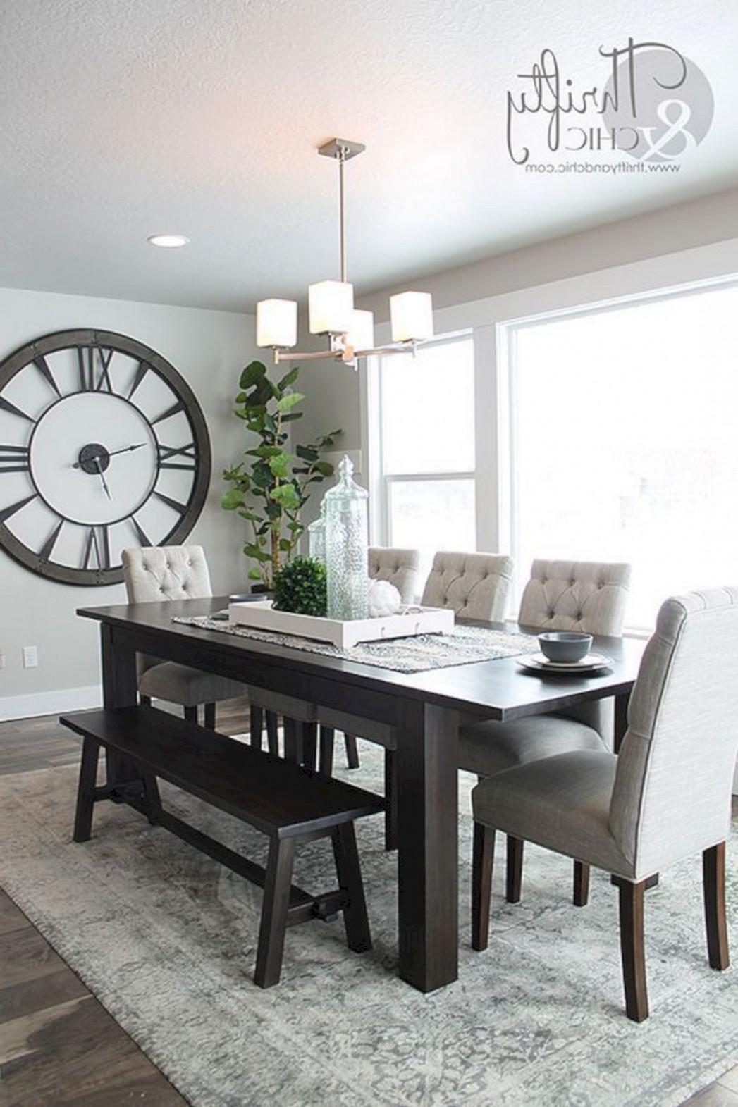 Great Idea 10 Simple and Minimalist Dining Table Decor Ideas http  - Dining Room Ideas Tables