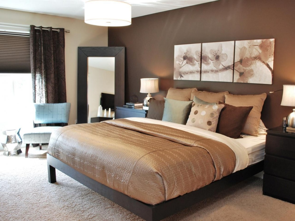 Green Bedrooms: Pictures, Options & Ideas  Brown master bedroom  - Bedroom Ideas Brown