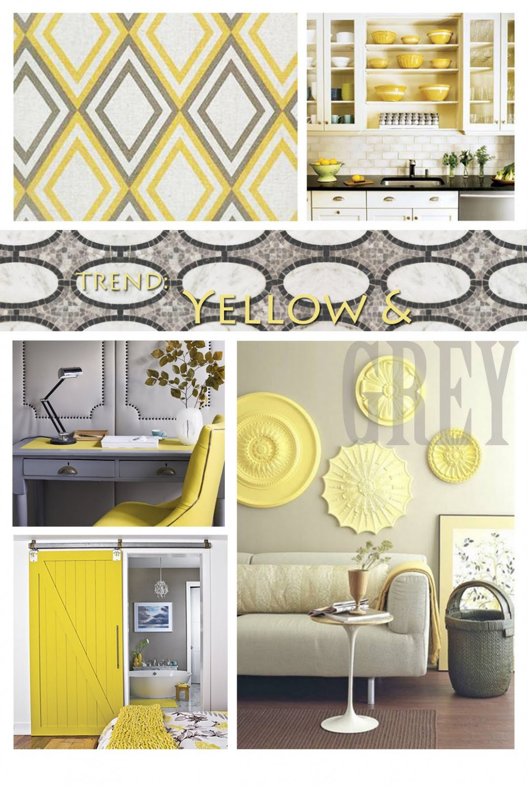 Grey And Yellow Dining Room Bathroom Living Layout Decor Kitchen  - Grey Yellow Dining Room Ideas