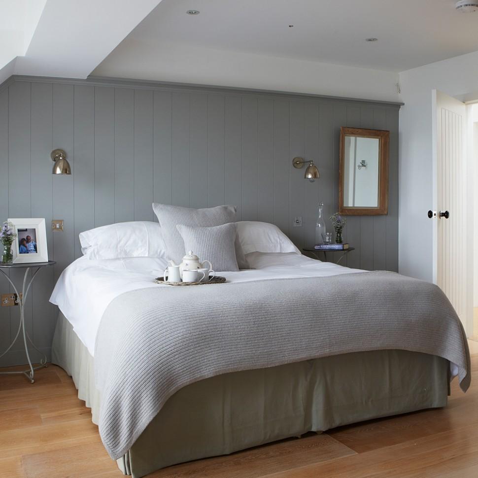Grey bedroom ideas – grey bedroom decorating – grey colour scheme - Bedroom Ideas Paint