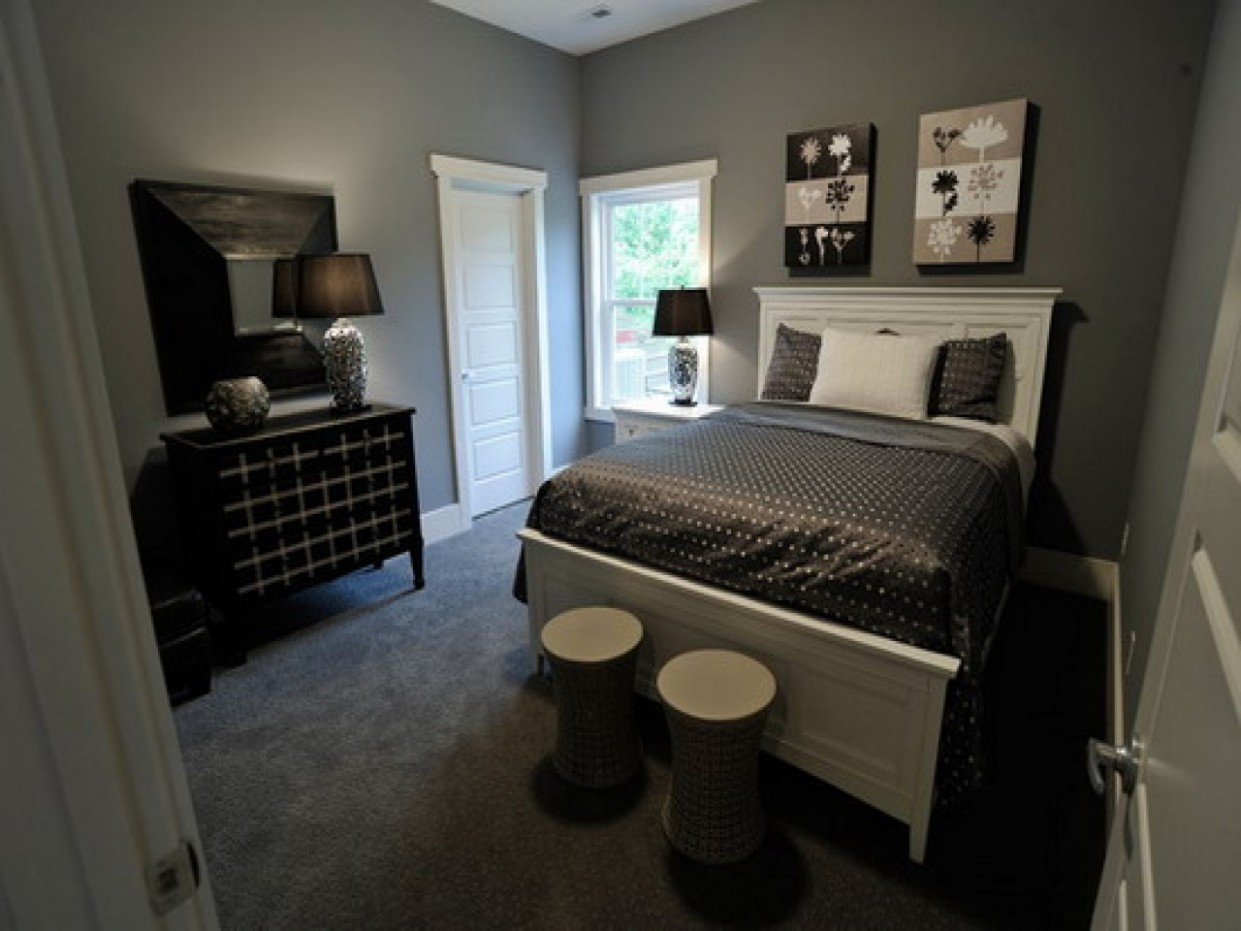 Grey Walls Bedroom Tumblr The Image Kid Gray Wall Decoration  - Bedroom Ideas Grey Walls