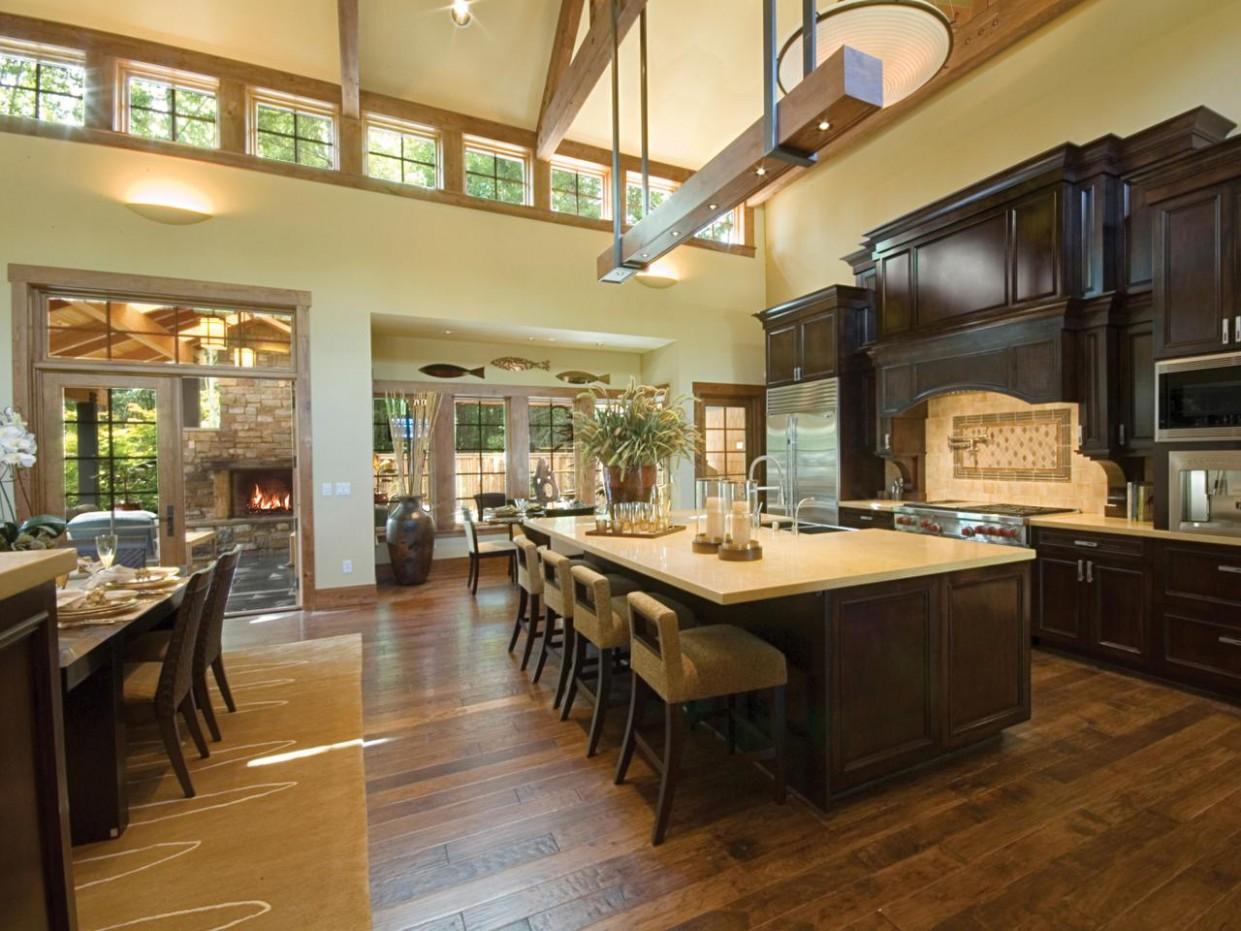 Hardwood Flooring in the Kitchen  HGTV - Dining Room Ideas With Hardwood Floors