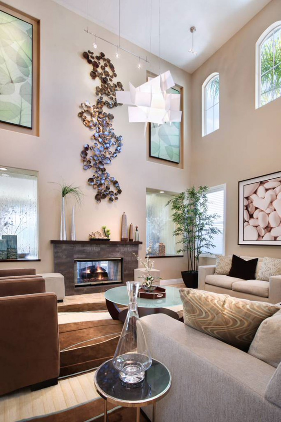 High Ceiling Rooms And Decorating Ideas For Them - Bedroom Ideas High Ceilings