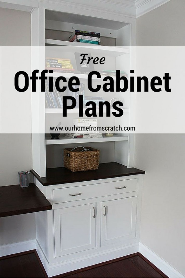 home office cabinet plans  Home office cabinets, Office cabinets  - Home Office Ideas With Kitchen Cabinets