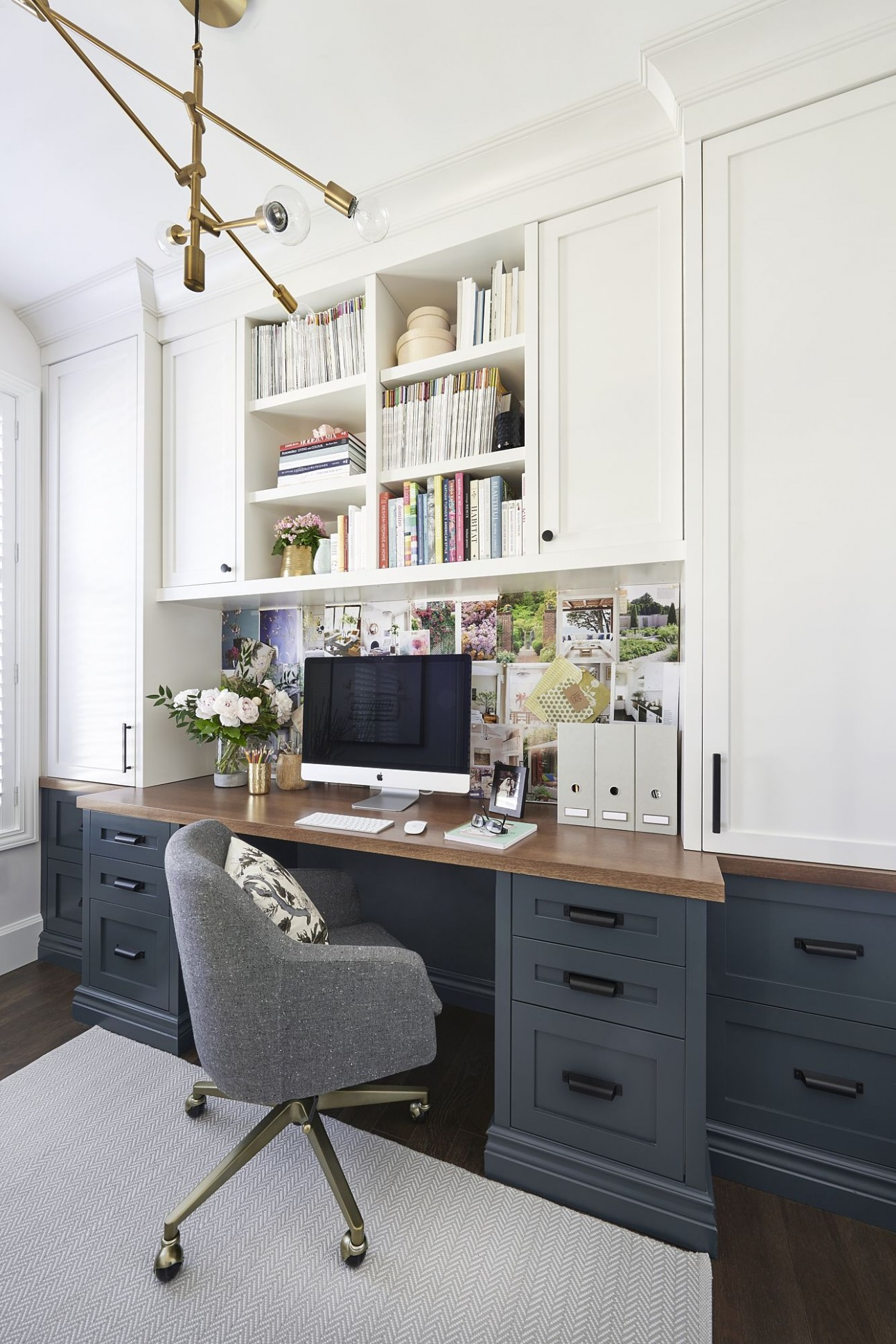 Home office- craft room- reveal- home office space- craft supply  - Home Office Ideas With Storage