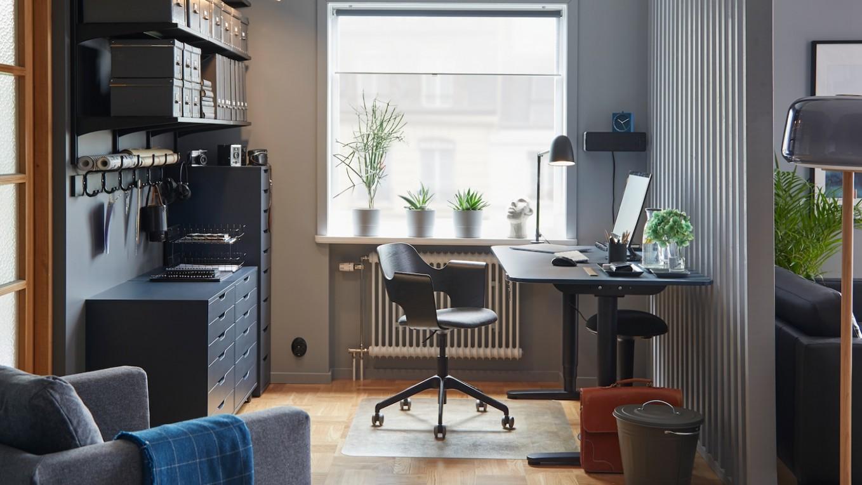 Home Office Design Ideas Gallery - IKEA CA - Home Office Organization Ideas Ikea