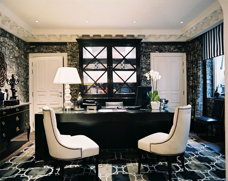 Home Office Design Ideas  Home office design, Executive office  - Executive Home Office Ideas