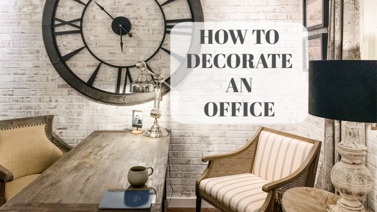 Home Office Design IdeasSmall Office Design - Wall Decor Ideas For Office