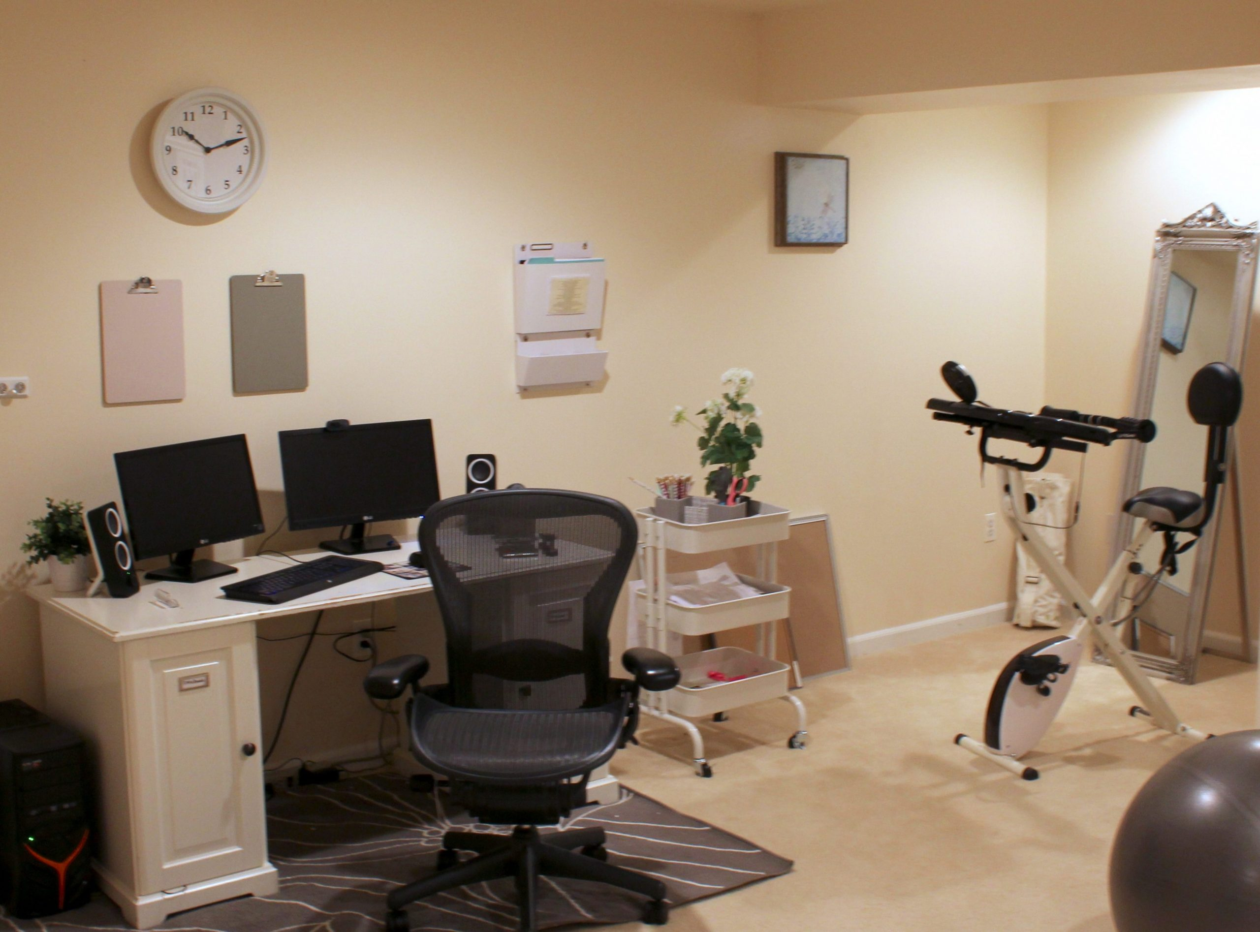 Home Office Ideas on a Budget: 8 Easy Office Upgrades  Busy Budgeter - Home Office Ideas Budget