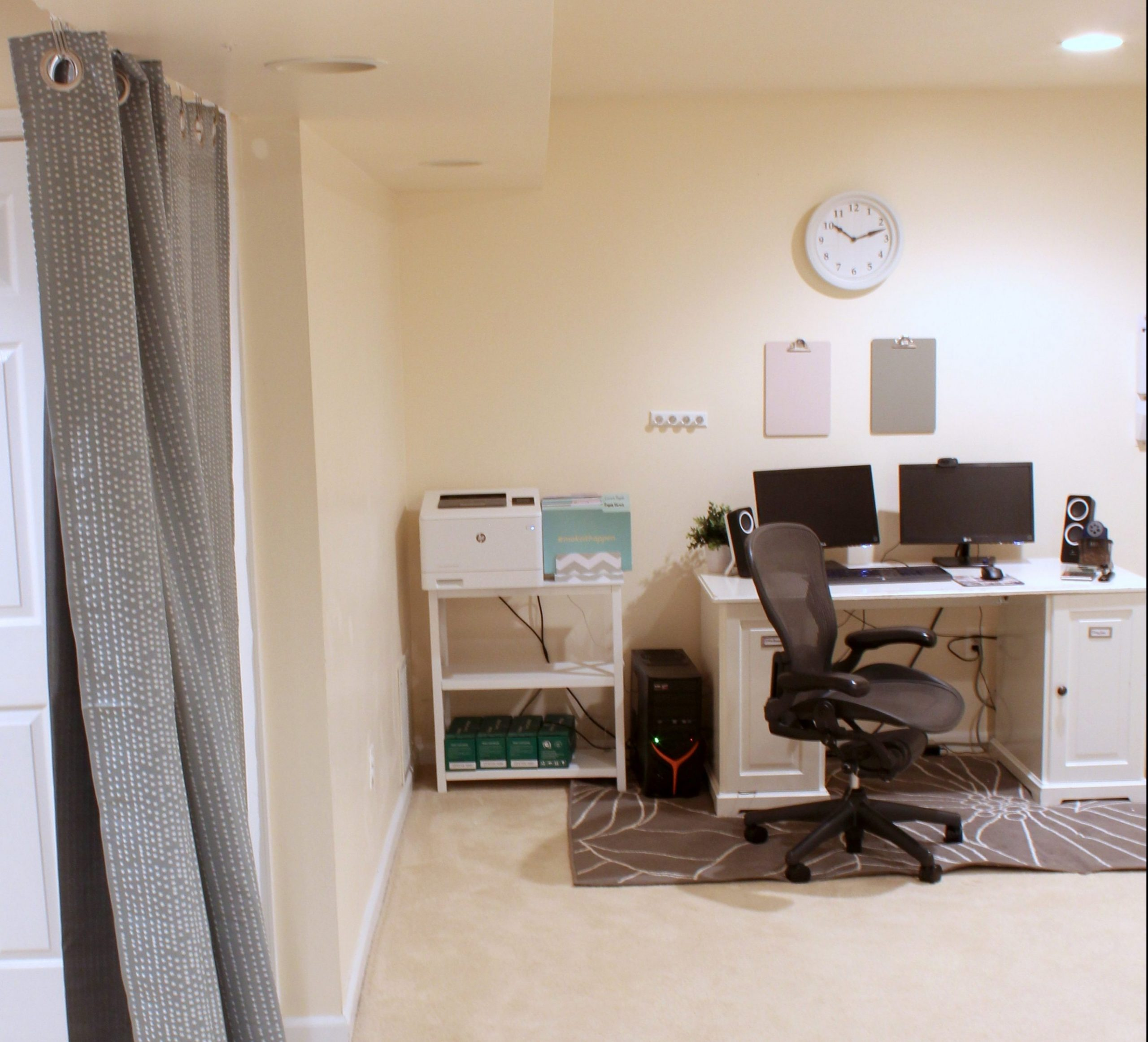 Home Office Ideas on a Budget: 9 Easy Office Upgrades  Busy Budgeter - Home Office Ideas Cheap