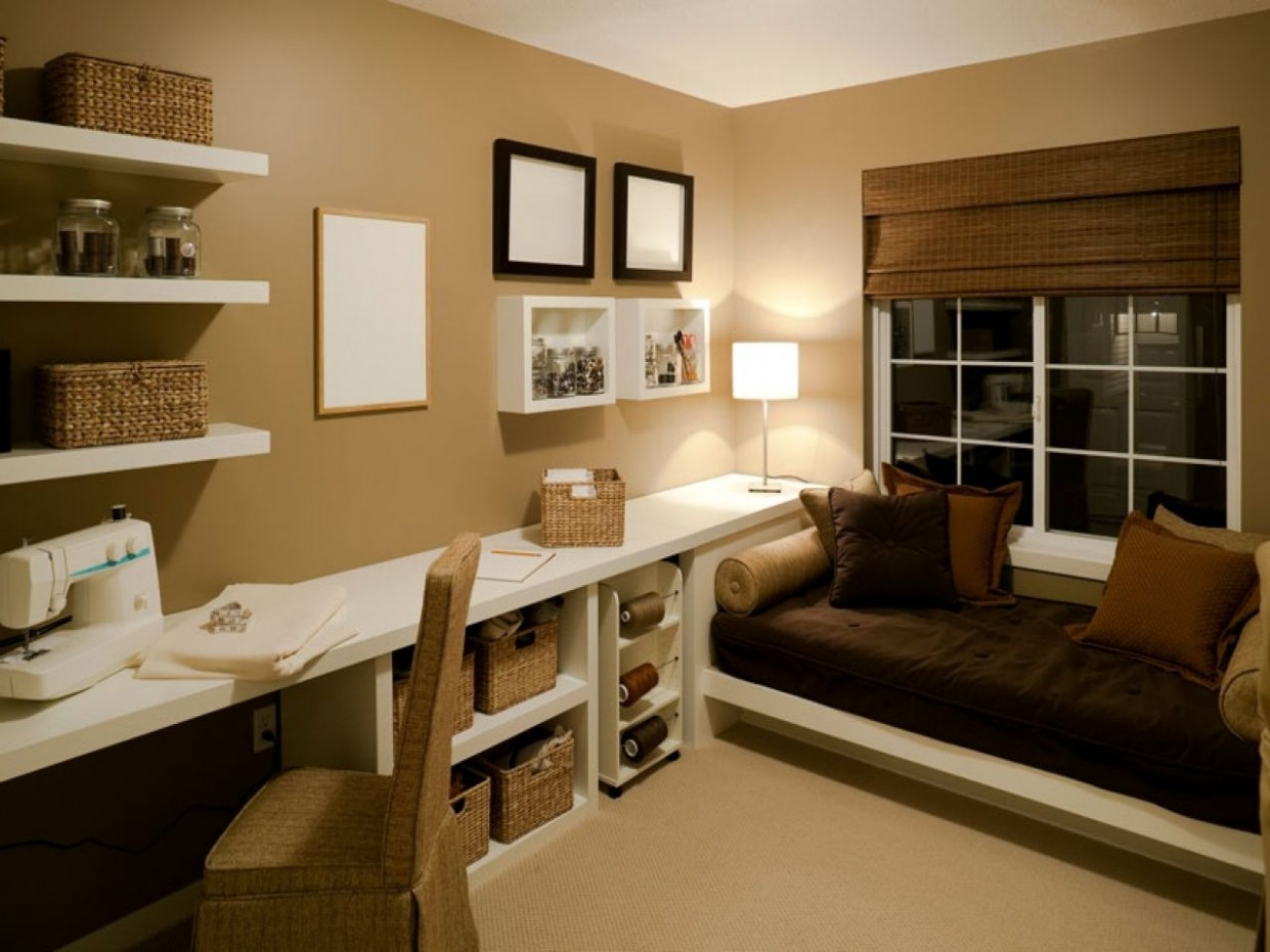 home office spare bedroom bedroom ideas Second Bedroom Office  - Home Office Ideas Spare Bedroom