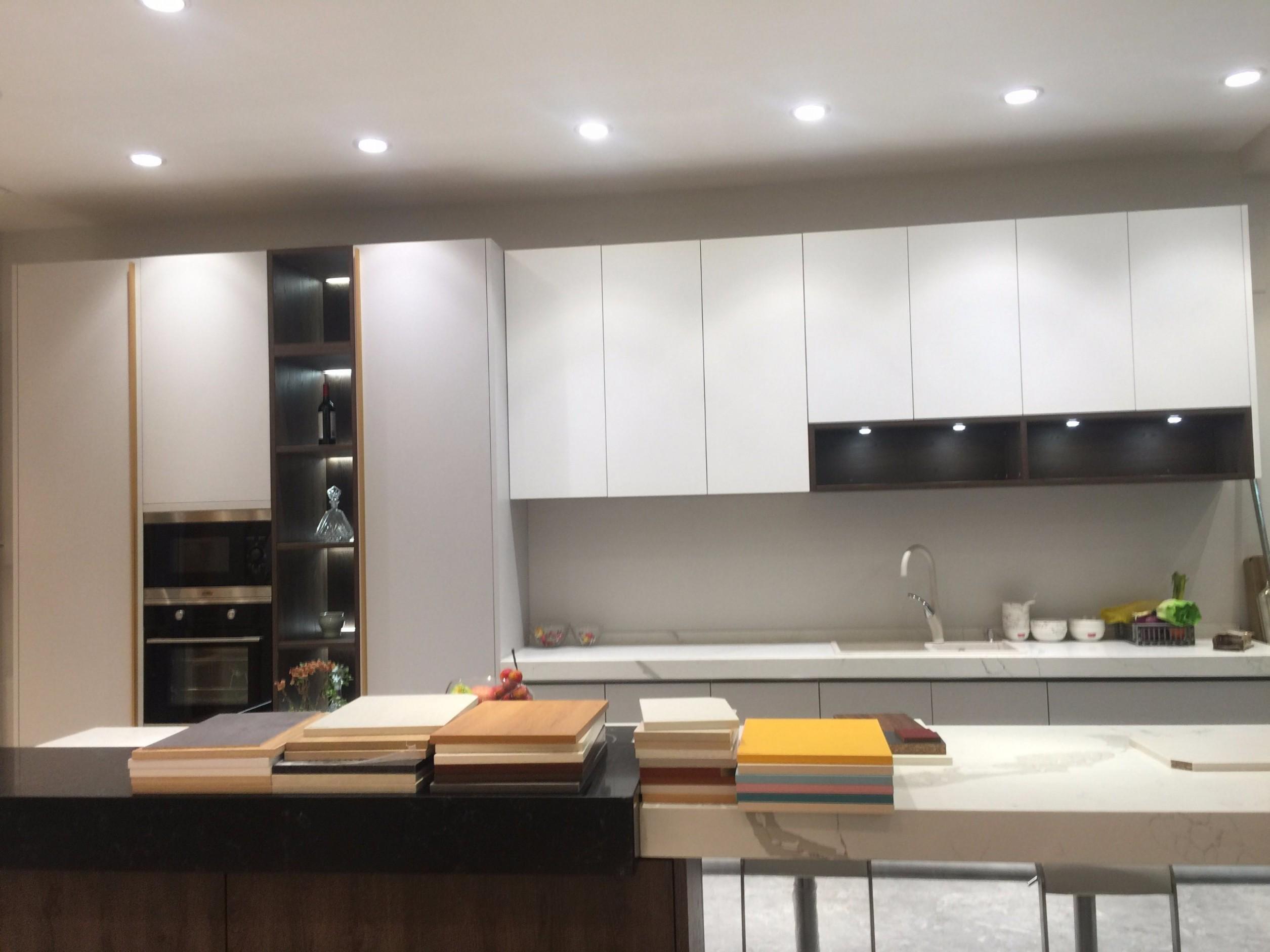 [Hot Item] High Gloss White Kitchen Furniture Cabinet with E100/E10 Grade  (ACS10-L10910) - Kitchen Cabinets Gloss White