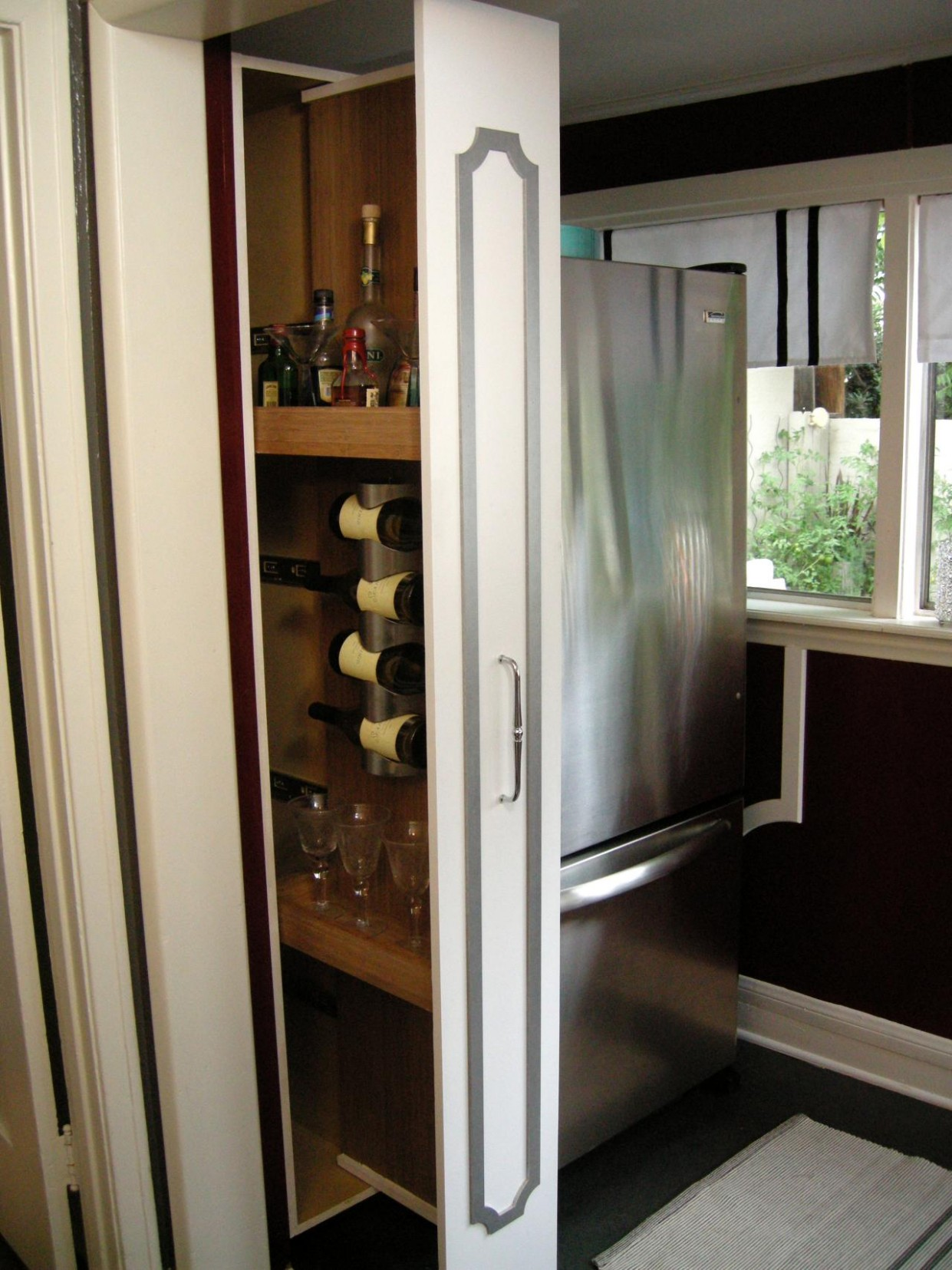 How to Build a Vertical Pull-Out Cabinet  HGTV - What To Do With Skinny Vertical Cabinet Kitchen