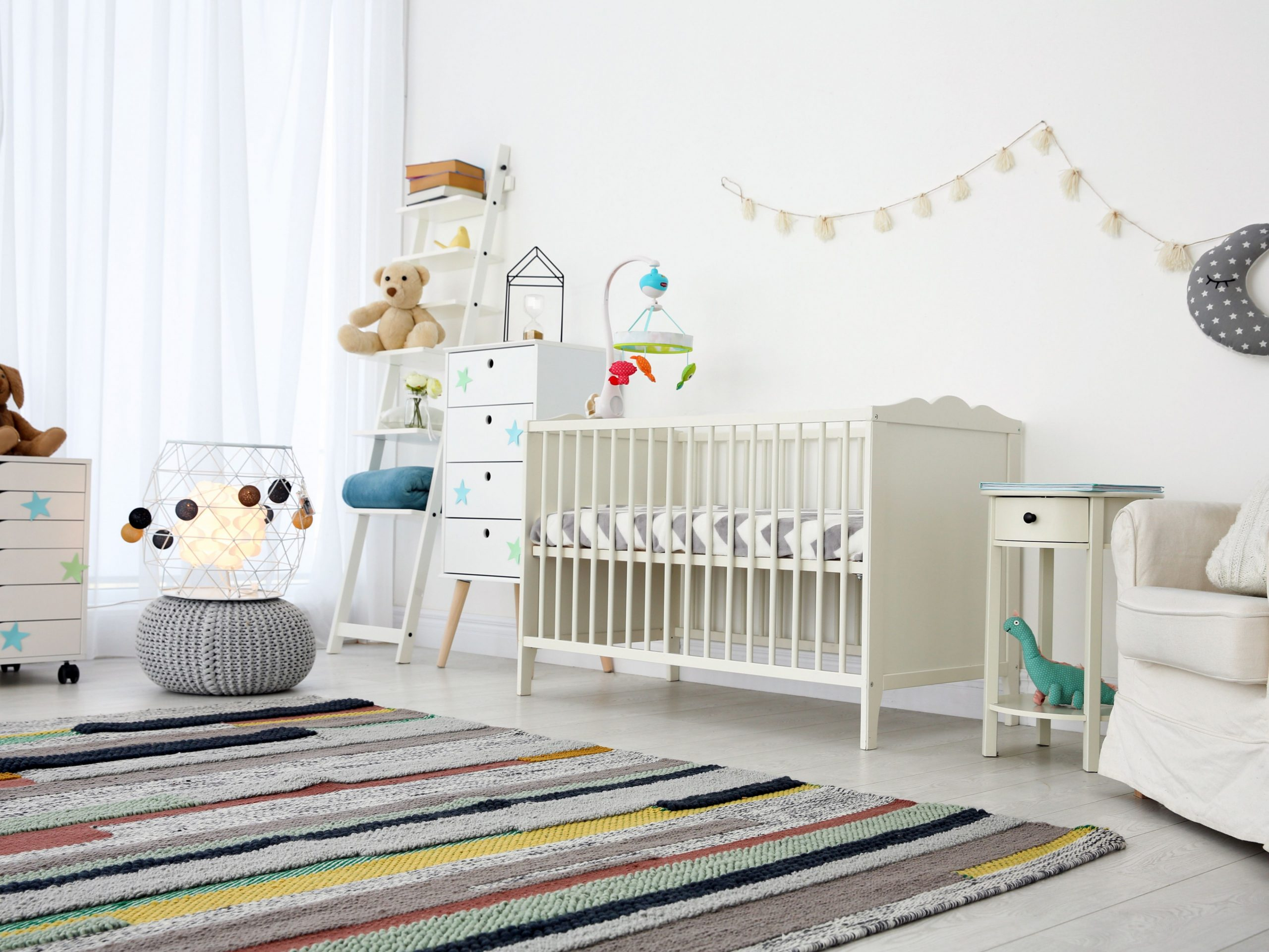 How to Choose a Rug for the Nursery - Baby Room Carpet
