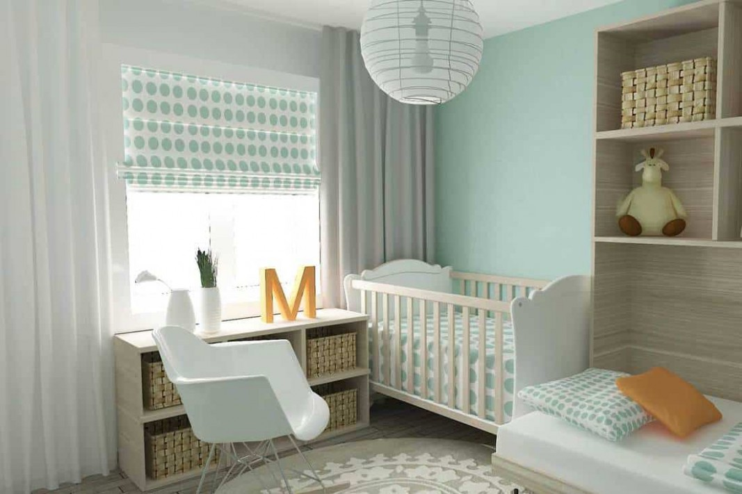 How to Choose Curtains for the Nursery Room? - Home Decor Bliss - Baby Room Valances