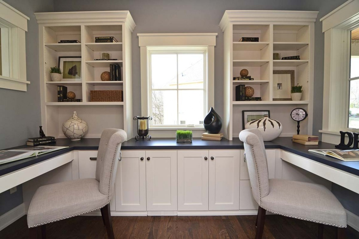 How to Choose the Right Cabinets for Your Home Office - Home Office Ideas With Storage