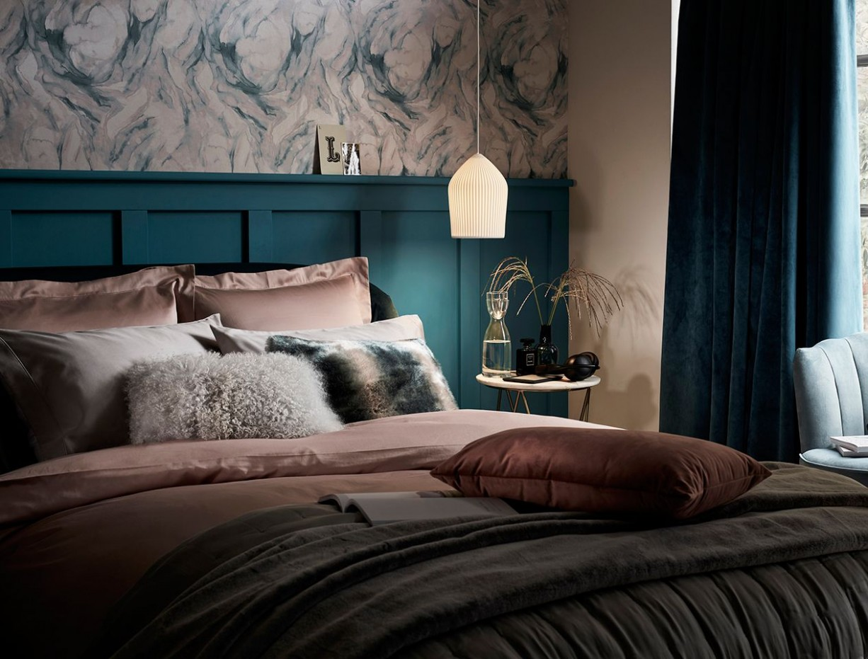 How to create a boutique hotel style bedroom  John Lewis & Partners - Bedroom Wallpaper Ideas John Lewis