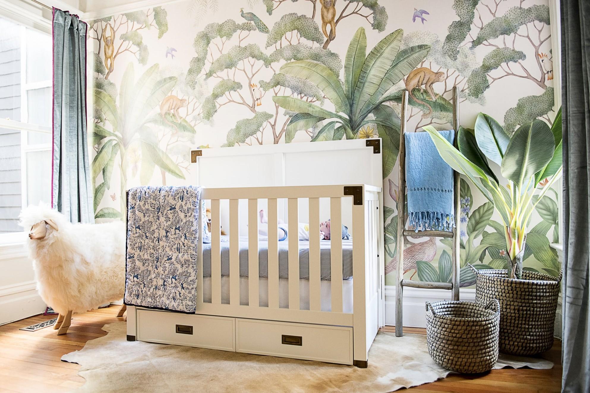 How to Decorate a Nursery  POPSUGAR Family - Baby Room Nursery
