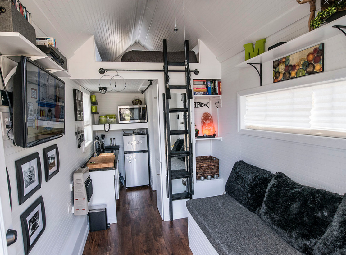 How To Decorate A Tiny Living Space - HotPads Blog - Tiny Apartment Design Under 200 Sf