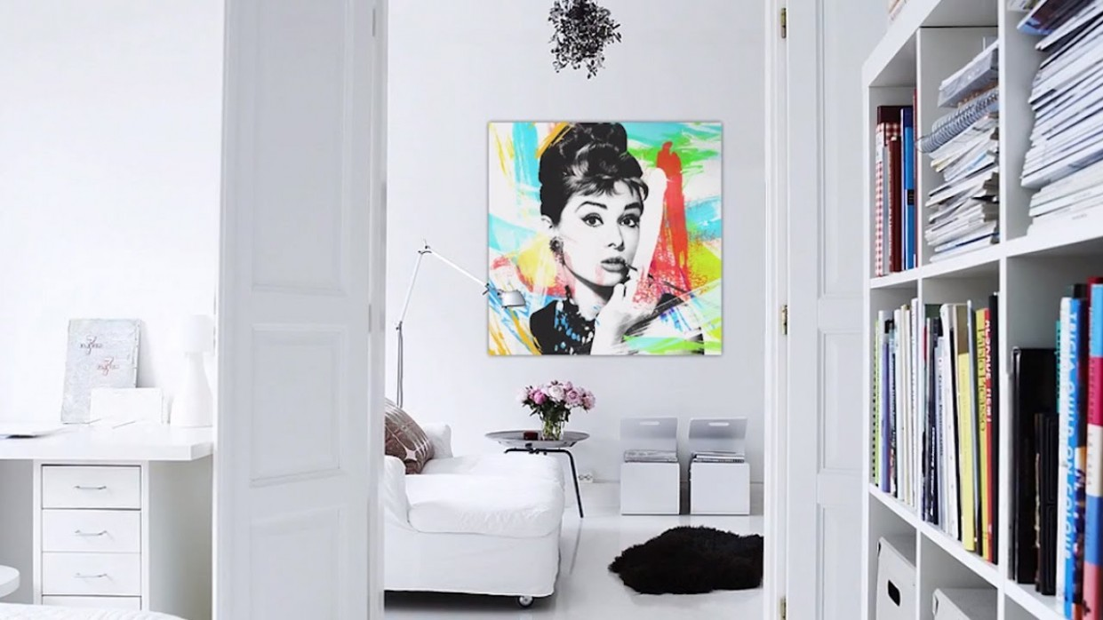 How to Decorate White Walls  At Home With P