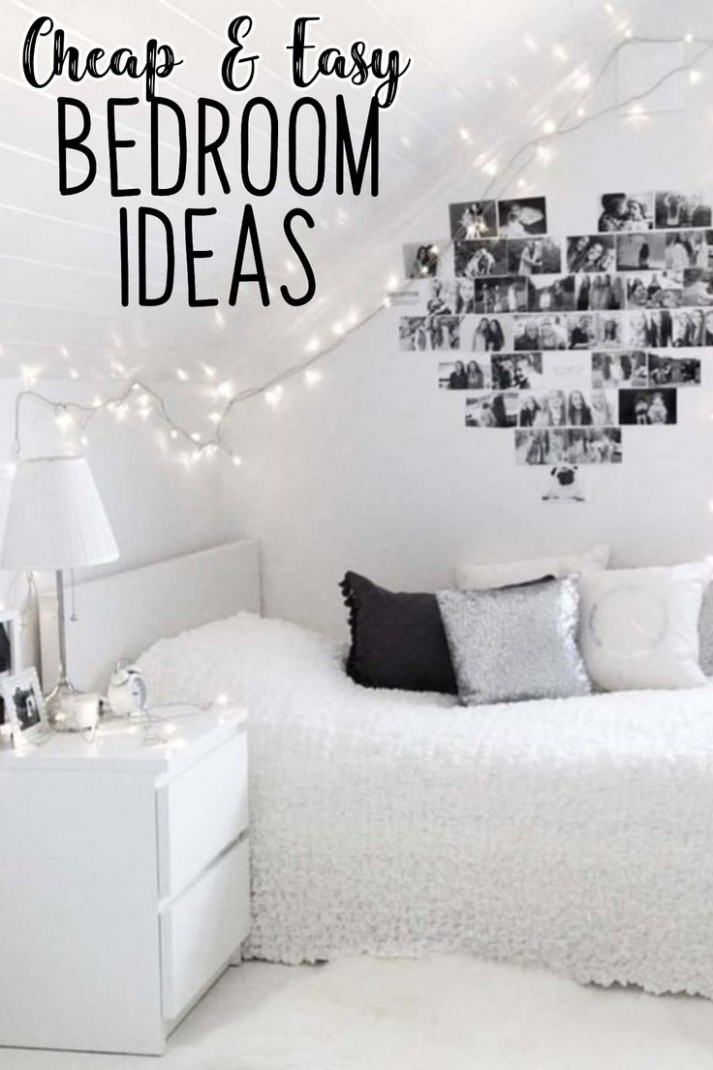 How To Decorate Your Room WITHOUT Buying Anything - Decorating  - Bedroom Ideas Cheap